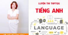 Khóa NGỮ PHÁP môn Tiếng Anh- Luyện thi THPT QG - cô Vũ Thanh Hoa