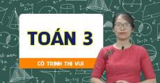 Toán 3 - Cô Trịnh Thị Vui