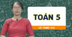 Toán 5 - cô Trịnh Thị Vui