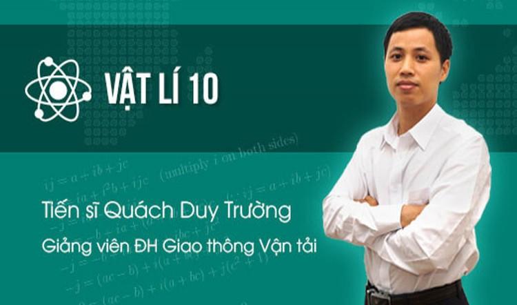 Vật Lý 10 - Thầy Quách Duy Trường