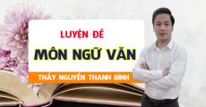 Khóa LUYỆN ĐỀ môn Văn - Luyện thi THPT QG - Thầy Nguyễn Thanh Bình